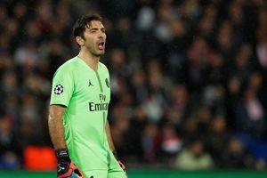 Buffon thêm một lần đau ở Champions League