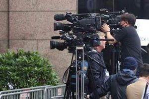 Hậu trường tác nghiệp báo chí ở thượng đỉnh Mỹ-Triều