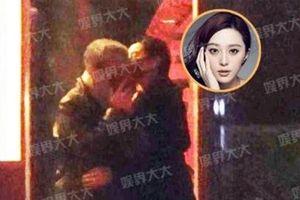 Phạm Băng Băng bị bắt gặp ôm hôn người đàn ông lạ mặt