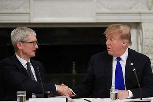 Tổng thống Trump gọi giám đốc Apple Tim Cook là 'Tim Apple'