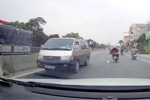Xử phạt hành vi điều khiển xe ô tô đi ngược chiều trên Quốc lộ 10