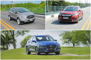 SUV đô thị 'so găng': Chọn Hyundai Kona, Honda HR-V hay Ford EcoSport?