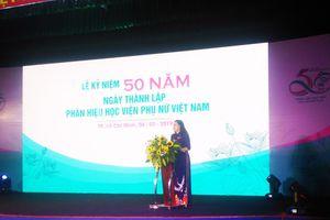 Phân hiệu Học viện Phụ nữ Việt Nam kỷ niệm 50 năm thành lập