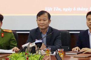 Đề nghị huyện Việt Yên tiếp tục điều tra vụ thầy giáo dâm ô học sinh