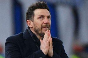 Thất bại ở Champions League, AS Roma 'trảm' HLV