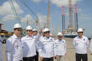 Lãnh đạo tỉnh Phú Thọ thăm và làm việc tại các công trình dầu khí PTSC