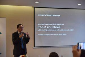 Việt Nam thuộc top 3 quốc gia bị tấn công mạng nhiều nhất thế giới
