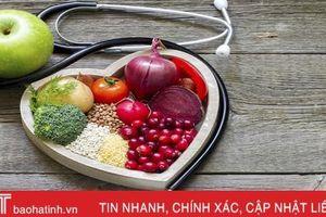Chế độ ăn để có trái tim khỏe