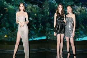 Ngọc Trinh diện váy hở bạo khoe chân dài miên man, 'chặt đẹp' hội chị em tại sự kiện