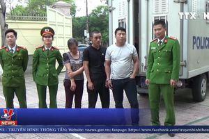 Nghệ An bắt 3 đối tượng trốn truy nã về thi hành án