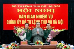Tướng Nguyễn Trọng Triển làm Chính ủy Bộ Tư lệnh Thủ đô Hà Nội
