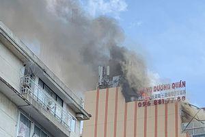 Cháy Hàng Dương Quán ở trung tâm Sài Gòn
