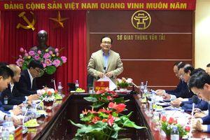 Bí thư Thành ủy Hà Nội Hoàng Trung Hải làm việc với lãnh đạo Sở Giao thông - Vận tải