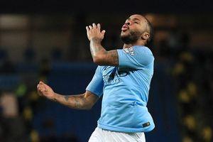 Sterling lập hat-trick giúp Man City xây chắc ngôi đầu