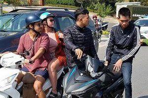 Hai thanh niên giật túi xách của du khách Anh ở Đà Lạt