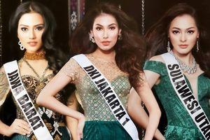 Nhan sắc rực rỡ của 3 cô gái vừa trở thành hoa hậu ở Indonesia