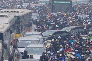Hà Nội mong cấm xe máy vào nội đô càng sớm càng tốt