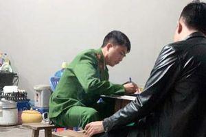 Hiện trường vụ nổ súng để đòi tiền bảo kê ở Hà Đông, Hà Nội