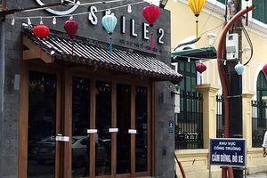 Khẩn trương điều tra vụ một người nghi tử vong tại quán cà phê Smile 2, phố Lý Thái Tổ