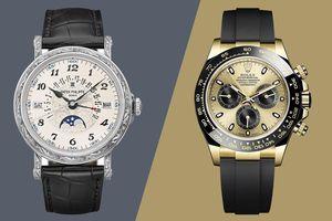 Câu hỏi của người có tiền: 'Mua đồng hồ Rolex hay Patek Philippe?'