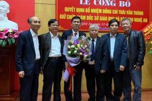 Phó Hiệu trưởng Đại học Vinh giữ chức Giám đốc Sở GD&ĐT Nghệ An