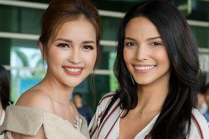 Hoa hậu Siêu quốc gia 2018 để mặt mộc, giản dị đến Việt Nam