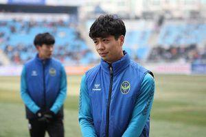 Công Phượng ghi cú đúp cho Incheon United ở trận đấu tập