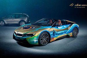 Siêu xe BMW i8 Roadster khoác 'bộ áo' môi trường cực độc