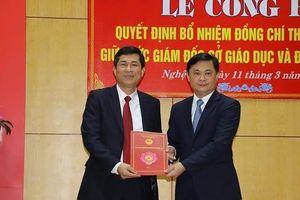 Phó Hiệu trưởng Đại học Vinh làm Giám đốc Sở GD&ĐT Nghệ An