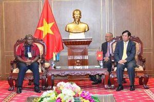 Tăng cường hợp tác giữa cơ quan công tố Việt Nam và Cộng hòa Mozambique