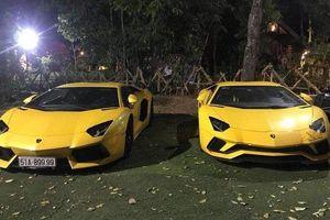 Bộ đôi Lamborghini Aventador đổ bộ phố núi Buôn Mê Thuột