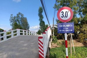 Bạc Liêu: Kỳ lạ cây cầu mang tên Phó Chủ tịch xã đương nhiệm