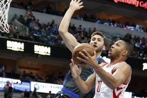 Nhọc nhằn vượt qua Mavericks, Rockets nối dài chuỗi toàn thắng lên con số 8