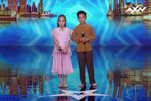 Cặp đôi nhí đến từ Việt Nam khiến sân khấu Asia's Got Talent 'vỡ òa': 'Bọn con sẽ cùng nhau nhảy đến già'