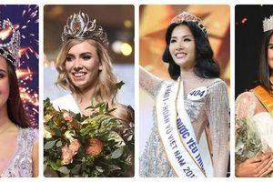 Hoàng Thùy lọt top 4 thí sinh có tiền sử 'dự thi sắc đẹp quốc tế' được Miss Universe 2019 phân tầng