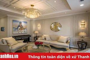 Ngôi biệt thự có nội thất dát vàng nữ doanh nhân tặng mẹ