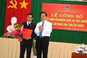 Nhân sự mới tại tỉnh An Giang