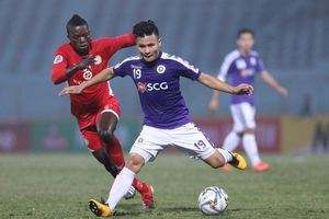 CLB Hà Nội bị cầm hòa, Bình Dương thua tại cúp châu Á
