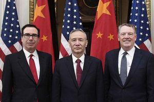 Trung Quốc và Mỹ thảo luận các vấn đề then chốt của thỏa thuận thương mại