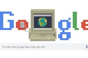 Biểu tượng World Wide Web trên Google Doodle hôm nay có ý nghĩa gì?