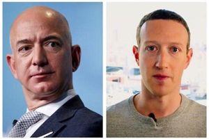 Top tỉ phú công nghệ giàu nhất thế giới: Mark Zuckerberg rớt hạng