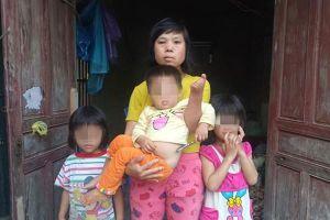 LD1928: Người phụ nữ dị tật lay lắt nuôi 3 con nhỏ từng ngày