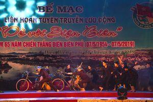 Bế mạc liên hoan tuyên truyền lưu động 'Về với Điện Biên'