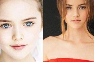 Cô bé đẹp nhất thế giới kiên trì với nghề mẫu