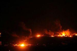 Căn cứ cuối cùng của IS ở Syria bị bom đạn xới tung