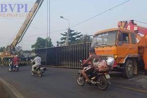 Bí ẩn cung đường 'tử thần' khiến xe container liên tiếp bị lật