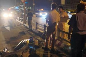 Vụ chết người vì tông vào dải phân cách 'cản' ô tô: Đơn vị quản lý lên tiếng