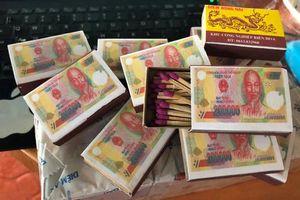 Ngoài in tiền trên vỏ hộp, 'Diêm Đồng Nai' còn nhiều bất thường