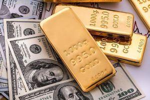 Vàng bật tăng, USD quay đầu giảm nhẹ