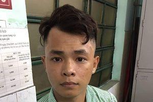 Trinh sát đặc nhiệm bắt nóng thanh niên cướp giật tại trung tâm TP.HCM